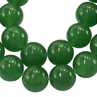 16 Inch Gemstone Aventurine 8mm Round Beads